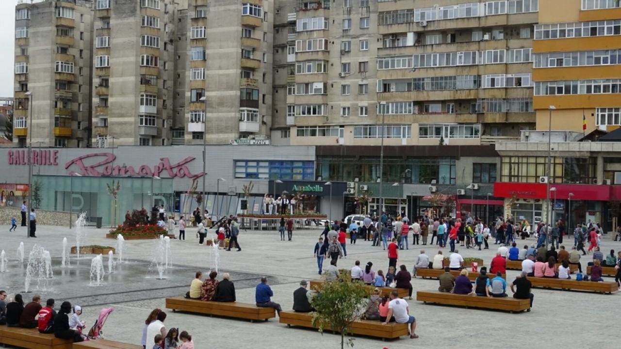 Un nou concert folcloric în Scuarul Mircea cel Bătrân